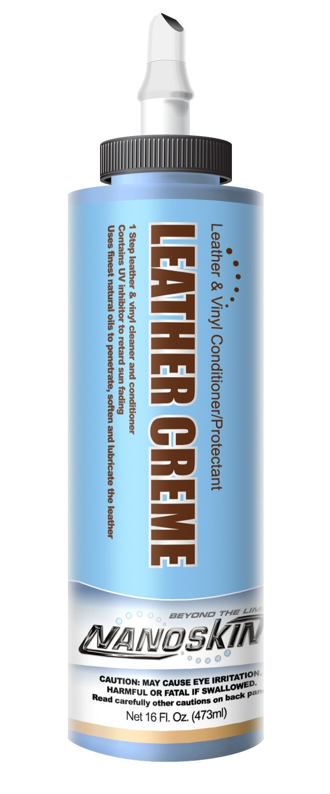 Nanoskin (NA-LCE16) Leather Crème Leather & Vinyl Conditioner/Protectant - 16 oz.
