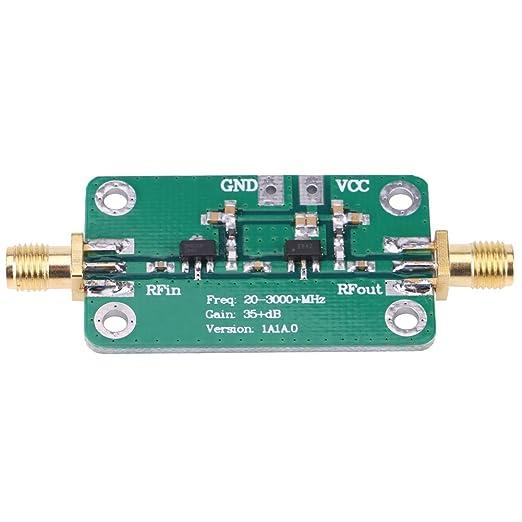 LNA Low Noise 50K-4G High Gain 25DB @ 0.8G High Gain Flatness RF Amplifier ml
