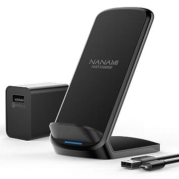 Amazon.com: NANAMI - Cargador inalámbrico de 7,5 W con ...