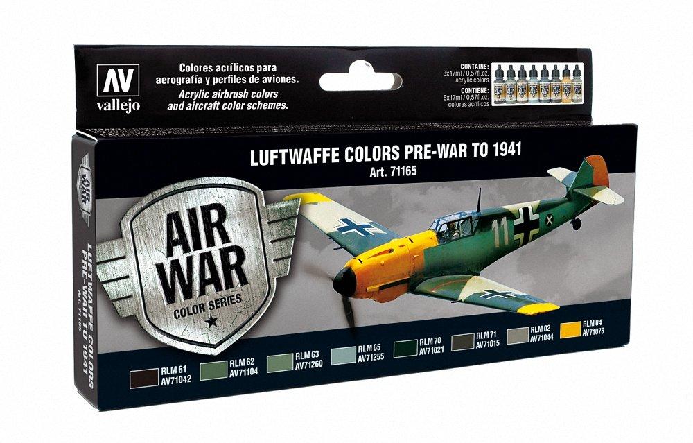 Vallejo RLM I Set Model Air Paint, 17ml