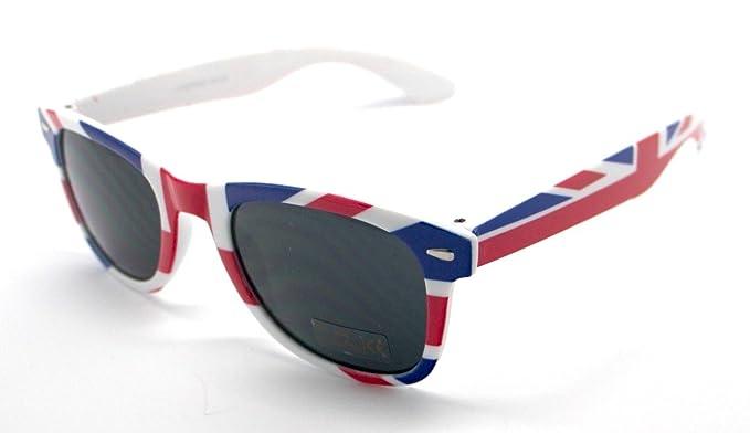 b62e558f82 Totalcovers Gafas de Sol Espejo Sunglasses Bandera UK Inglaterra:  Amazon.es: Ropa y accesorios