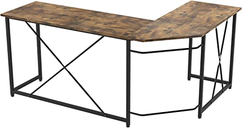 IRONCK L Shaped Computer Desk 66