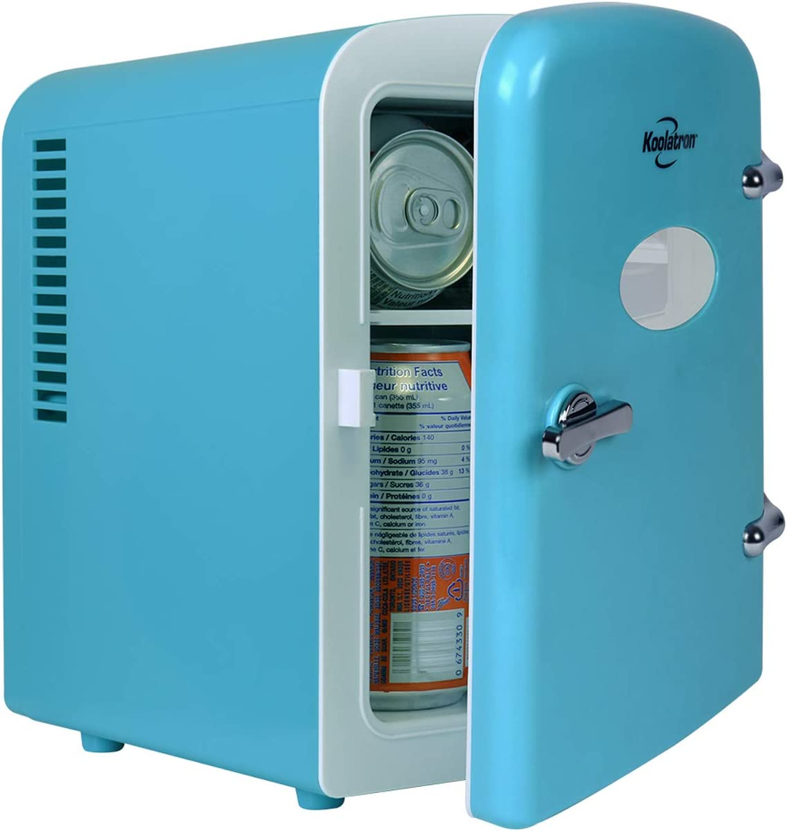 Koolatron KRT04 Mini Fridge Cooler And Warmer Portable ...