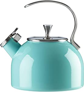 Kate Spade New York 857005 Turo Tea Kettle, Turquoise