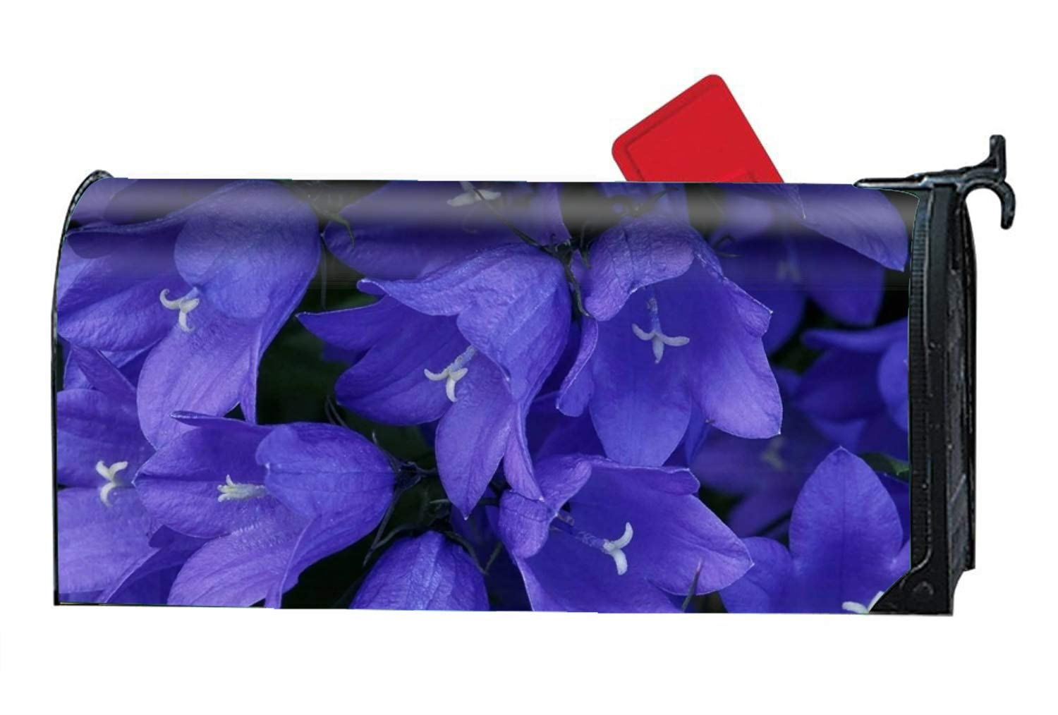 Amazing Bell Flower Custom Mailbox Covers Magnetic Mailbox Wrap Great Garden Decor