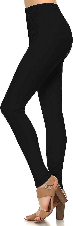 Fashionazzle Women/'s Ultra Soft Printed Brushed Best Leggings