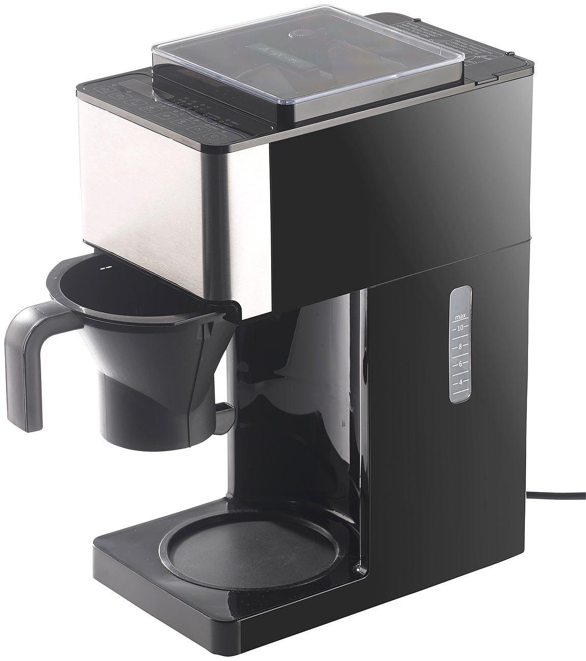 Rosenstein & Söhne - Cafetera automática: EW-1510 filtro de ...