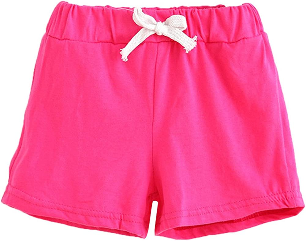 Summer Children Cotton Shorts Boys and Girl Clothes Baby Fashion Pants WOCACHI Toddler Unisex Baby Shorts