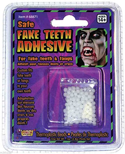 Forum Novelties Inc - Teeth Replacement Adult Adhesive - One-Size - Clear]()