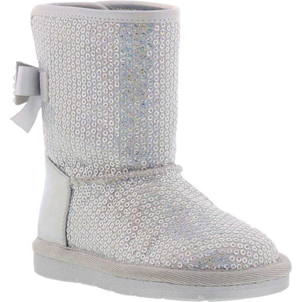Born Toddler Girls Casual Brenna Bianca-t Boots Silver Iridescent 13M