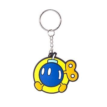 Nintendo Llavero caucho Bob-omb 6 cm: Amazon.es: Juguetes y ...