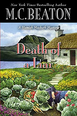 book cover of Death of a Liar