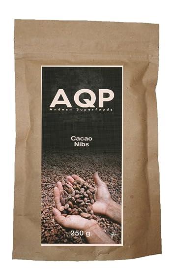 Nibs de Cacao (250g), Esencia Natural del Chocolate - Sin Azúcares Añadidos -