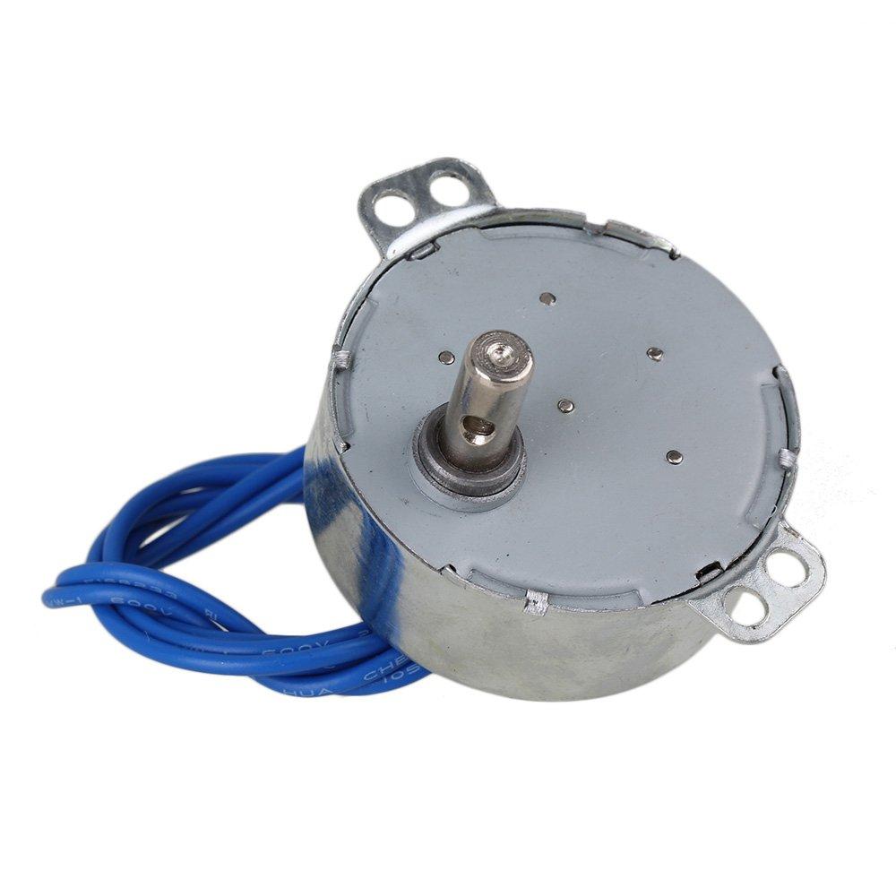 Yibuy 5 x TYC-50 AC110-127V Synchronous Motor 5-6 RPM CW/CCW 4W Torque 4KGF.CM Silver: Amazon.com: Industrial & Scientific