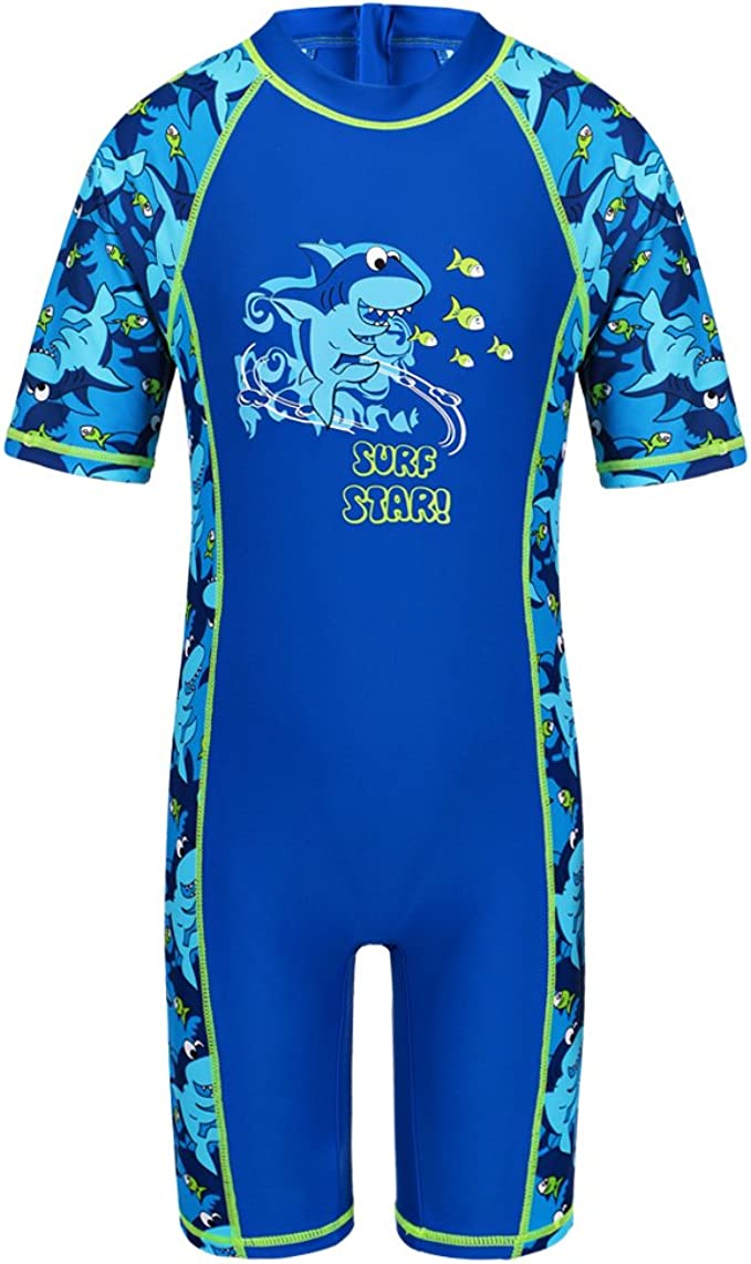 One Piece USA UV Protection // UPF 50 Free Shipping Boy Swimsuit