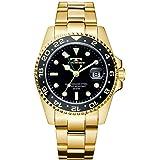 腕時計 メンズ テクノス TECHNOS GMT T2134