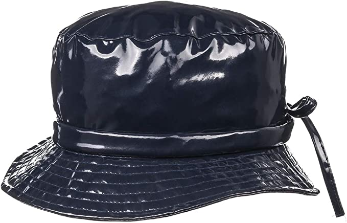 McBURN Sombrero Lluvia Charol Mujer - Lacado para Todo Tipo de ...