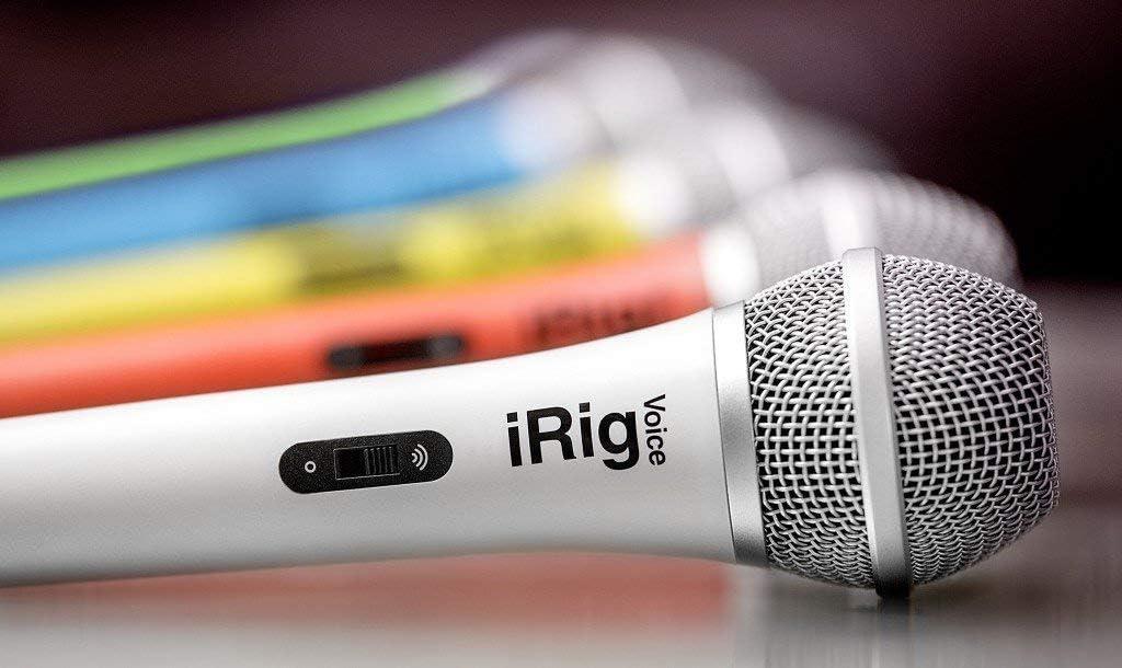 Micr/ófono IK Multimedia IPIRIGMICVOP color rojo