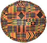 X8 Drums & Percussion X8-COVER-KENTE-3S Kente Cloth Padded Djembe Hat, Small