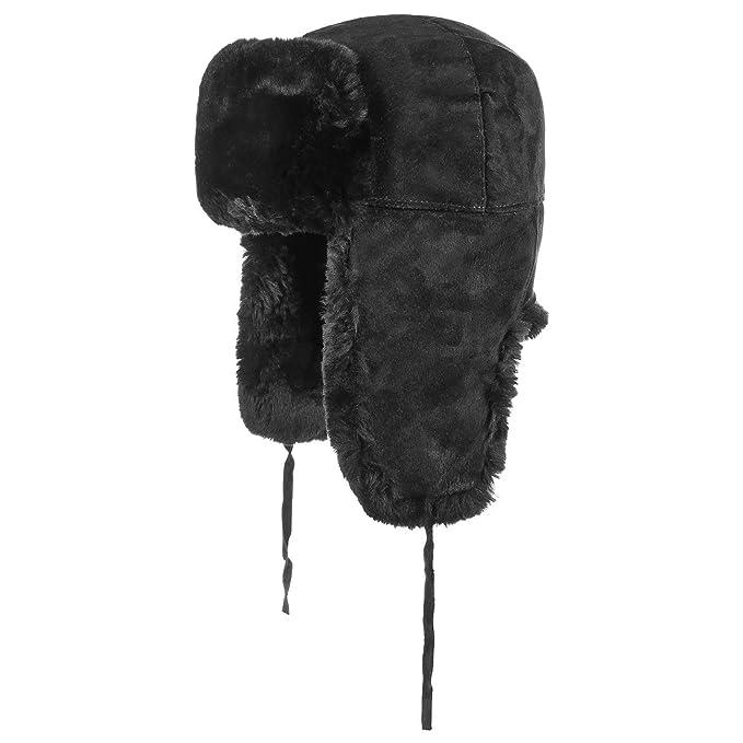 Cappello Aviatore in Pelle berretto in pelliccia cappelli aviatore cappelli  aviatore  Amazon.it  Abbigliamento 6ce0776a3d5c