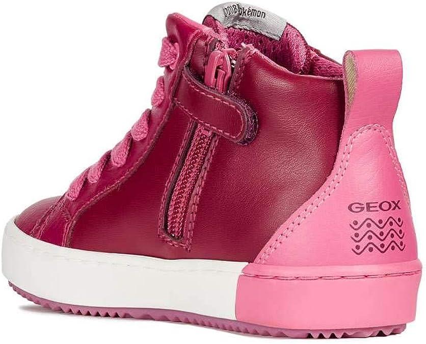 Geox sneaker alte jr girl kalispera j844gg stampa pokemon