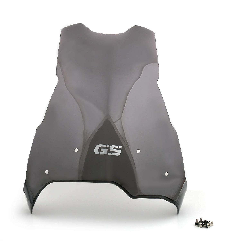 Pare-Brise de Pare-Brise de Moto en Plastique Pare-Brise de Pare-Brise pour B M W F650GS F800GS 600GS 800GS 2008-2017 SEESEE.U Pare-Brise de Moto