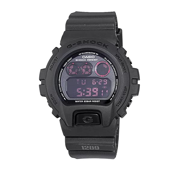 511d31e5b25 Image Unavailable. Image not available for. Colour  Casio Men s  DW6900MS-1CR G-Force Military Concept Black Digital Watch