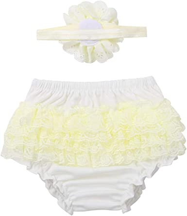 Baby Girls Floral Bloomer Shorts /& Headband Set Coming Home Birthday Cake Smash
