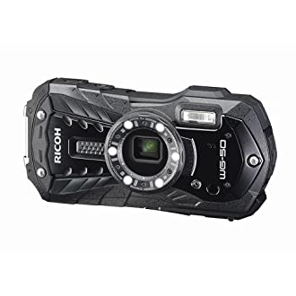 RICOH 防水デジタルカメラ RICOH WG-50 ブラック