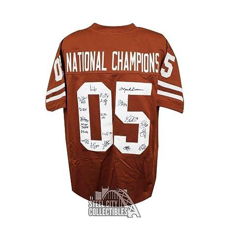 premium selection 5296a 7d976 Texas Longhorns Autographed National Champions Custom ...