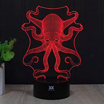 Amazon.com: Regalo ideas Night Lights 3d Ilusión lámpara ...