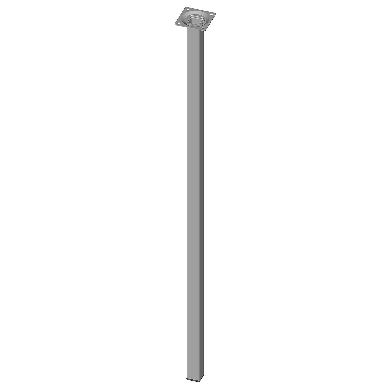 schwarz 10 Abmessungen 25 cm Element System 4 St/ück Stahlrohrf/ü/ße eckig Tischbeine 4 Farben 18133-00296 M/öbelf/ü/ße Inklusive Anschraubplatte