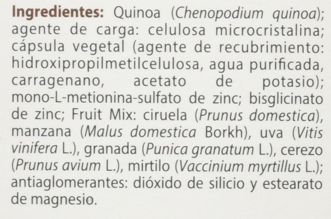 100% natural FitoZinc Minerales - 90 Cápsulas: Amazon.es: Salud y ...