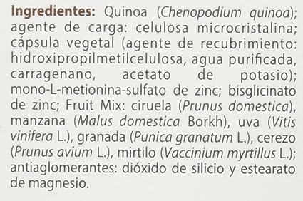 100% natural FitoZinc Minerales - 90 Cápsulas: Amazon.es ...