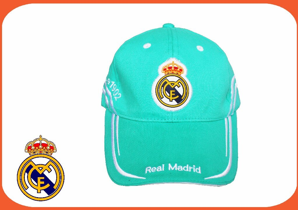 Gorras - Gorra verde real madrid adulto: Amazon.es: Equipaje