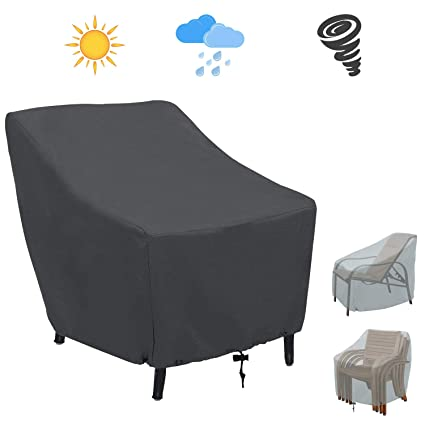 Swell Amazon Com Covolo Patio Chair Covers Outdoor Chair Covers Machost Co Dining Chair Design Ideas Machostcouk