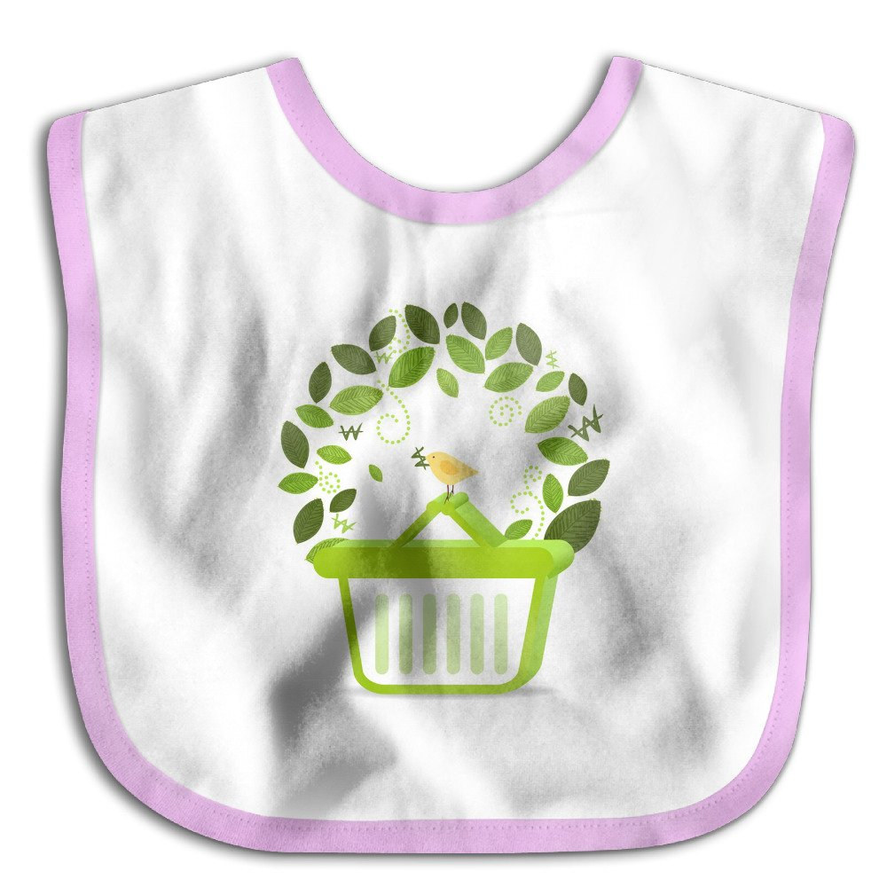 MGDBB Kids' Waterproof Brand New Leaf Bird Drool Bibs
