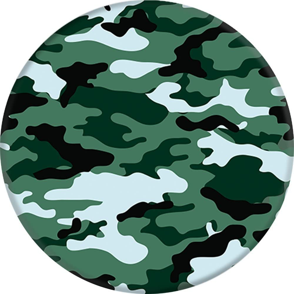 Green Camo PopSockets Collapsible Grip /& Stand for Phones and Tablets