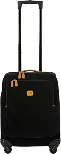 Bric s Life 21 Inch International Spinner Carry-On Luggage, Black