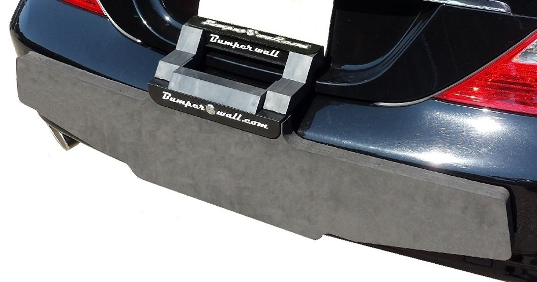 Bumper Wall line. BUMPERWALL Model XL2 The Largest Universal Adjustable Non-Abrasive Shock-Absorbent Bumper Protector Guard with an Extra Strong Body and Dual Locks