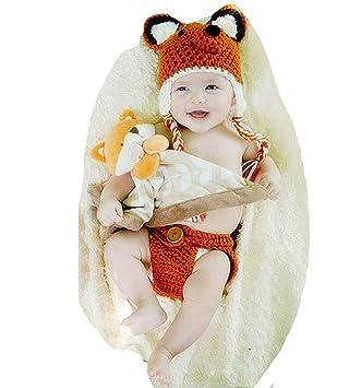 Amazon.com: Disfraz de ganchillo para recién nacido, bebé ...