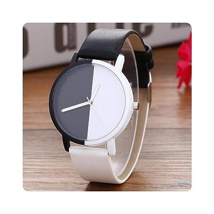Amazon.com: Top Simple Design Relojes Mujeres Casual Cuarzo ...