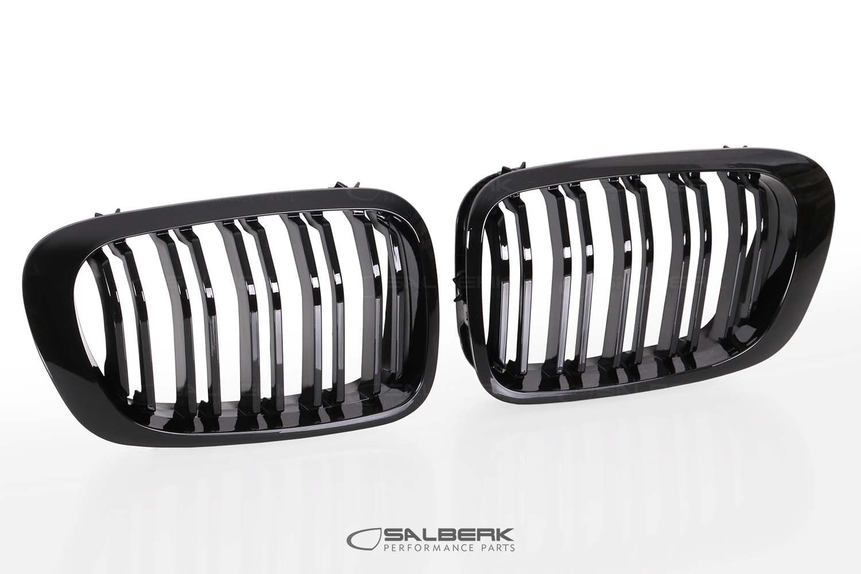 salberk performance 4603DL - black high-gloss coated kidneys