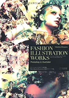 FASHION ILLUSTRATION WORKS Photoshop  Illustrator