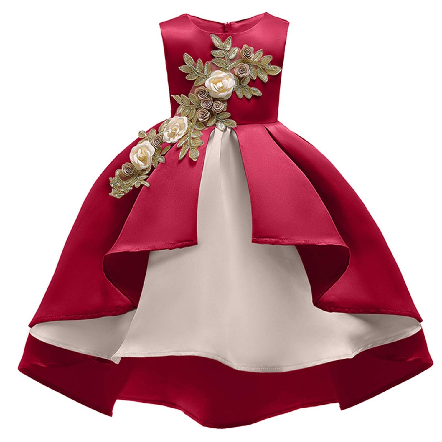 Girls Dress Summer Kids Dresses for Girl Princess Children Baby Tutu 2 3 4 5 6 7 8 9 10 Years,As Picture10,9 by Gooding Day (Image #5)