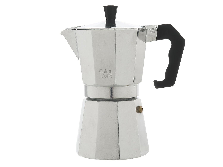 Acquisto Home Caldo Caffè, Caffettiera Moka per Espresso, 6 tazze, Alluminio, Grigio Prezzi offerta