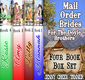 Mail Order Brides for the Doyle Brothers Audiobook