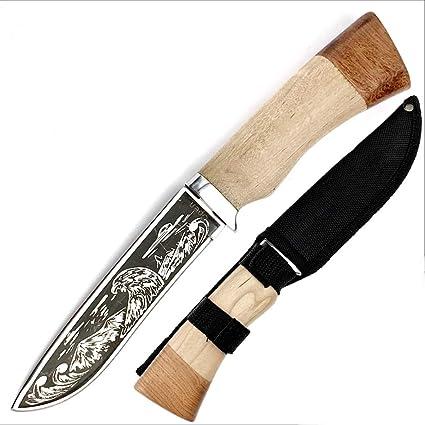 KANDAR 023 Eagle Cuchillo DE Hoja Fija para Caza • Longitud Total ...