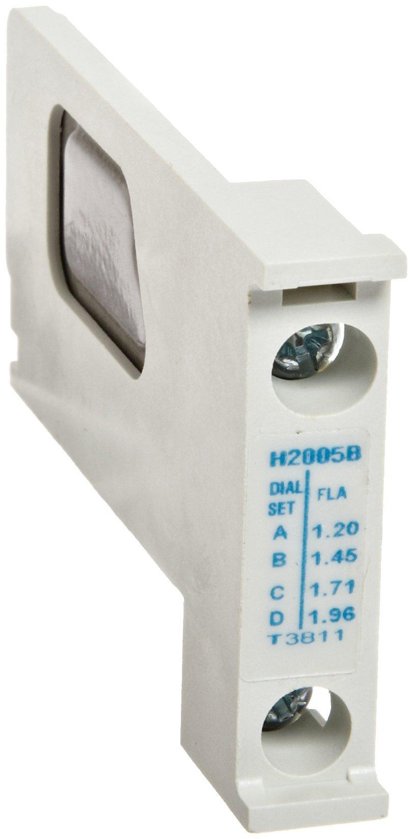 Eaton H2005B-3 Nema Starter Heater Pack, 1.20-1.96 Motor FLA (Pack of 3)