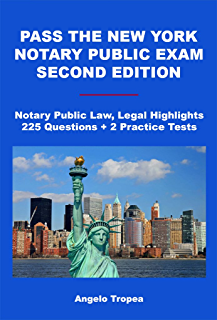 amazon com new york notary public exam speed study guide ebook rh amazon com New York Notary Public Logo New York Notary Public Logo